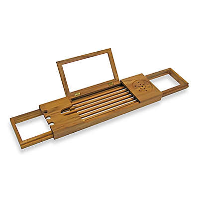 Teak Bathtub Caddy
