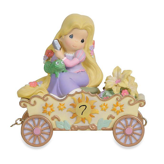 Alternate image 1 for Precious Moments® Disney® Birthday Parade Rapunzel in 7th Birthday