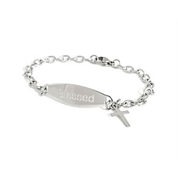 Speidel My First ID Bracelet with Cross Charm