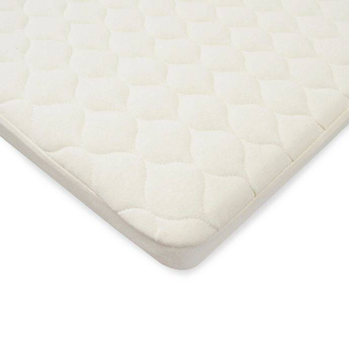 Alternate image 1 for TL Care® Waterproof Playard Mattress Pad Cover made with Organic Cotton Top Layer