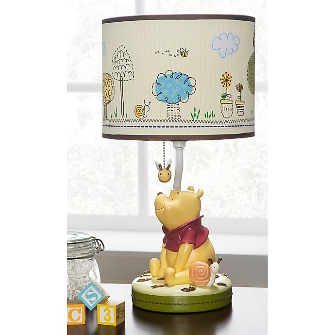 Disney 174 Friendship Pooh Lamp And Shade Bed Bath Amp Beyond
