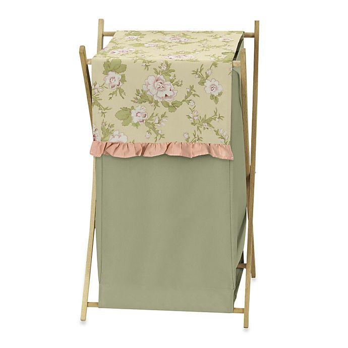 Alternate image 1 for Sweet Jojo Designs Annabel Laundry Hamper in Peach