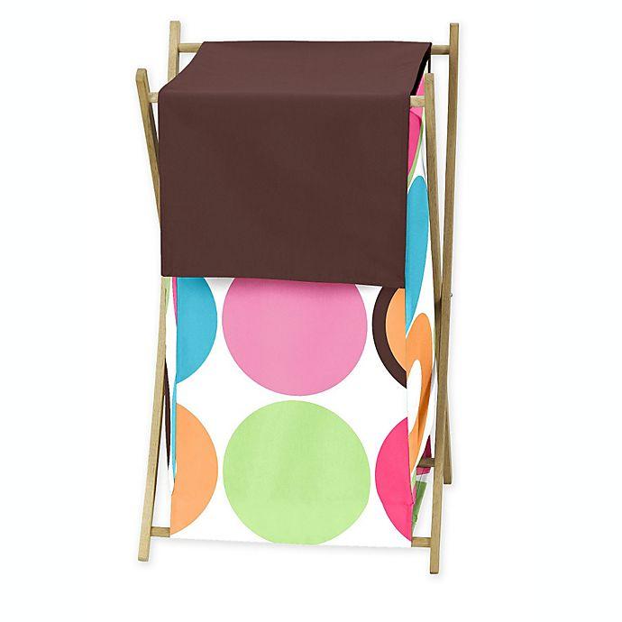 Alternate image 1 for Sweet Jojo Designs Deco Dot Laundry Hamper