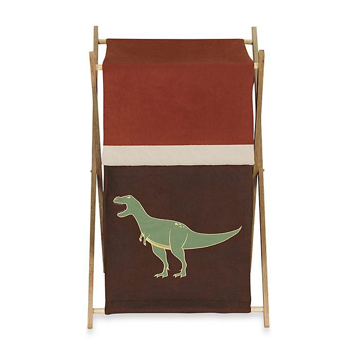 Alternate image 1 for Sweet Jojo Designs® Dinosaur Land Laundry Hamper