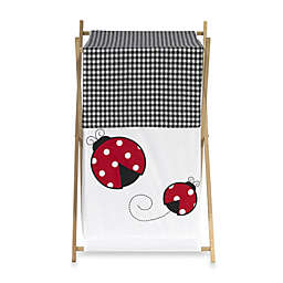 Sweet Jojo Designs Polka Dot Ladybug Laundry Hamper