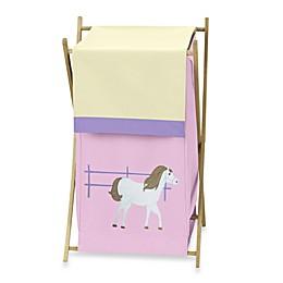 Sweet Jojo Designs Pretty Pony Laundry Hamper