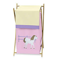 Sweet Jojo Designs Pretty Pony Laundry Hamper