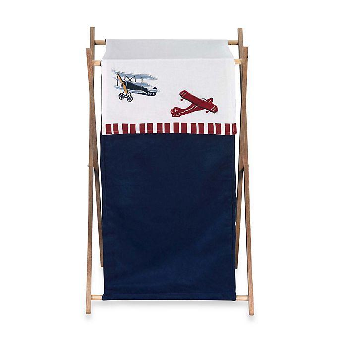 Alternate image 1 for Sweet Jojo Designs Vintage Aviator Laundry Hamper