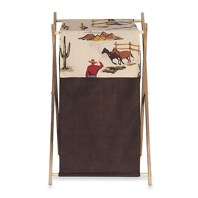 Alternate image 1 for Sweet Jojo Designs Wild West Laundry Hamper