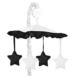 Sweet Jojo Designs Hotel Musical Mobile in White/Black