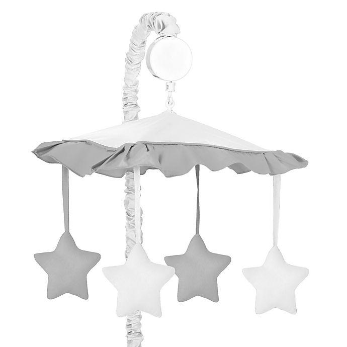 Alternate image 1 for Sweet Jojo Designs Hotel Musical Mobile in White/Grey