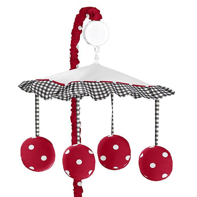 Alternate image 1 for Sweet Jojo Designs Ladybug Musical Mobile