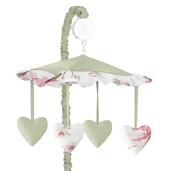 Alternate image 1 for Sweet Jojo Designs Riley's Roses Musical Mobile