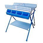 Baby Diego Standard Bath Tub & Changer Combo in Blue