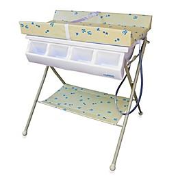 Baby Diego Standard Bath Tub  & Changer Combo in Beige