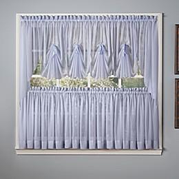 Emelia Window Curtain Swag Valance in Sky Blue