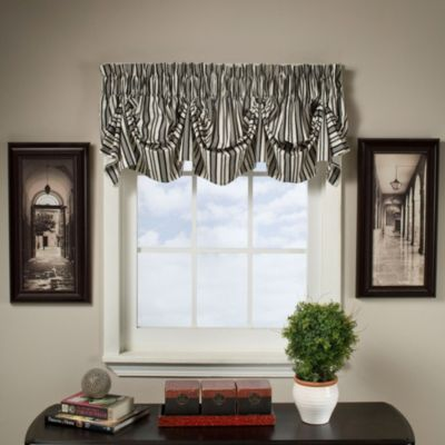 Gabrielle 16 Inch Tucked Pleat Valance Bed Bath Beyond