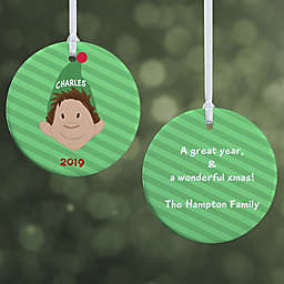 Christmas Character 2-Sided Glossy Christmas Ornament