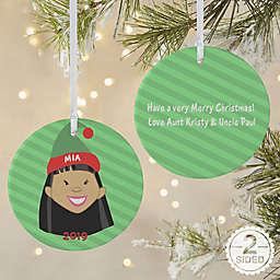 Christmas Character 2-Sided Matte Christmas Ornament