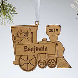 Holiday Train Christmas Ornament