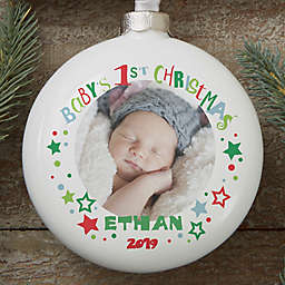 Baby's 1st Christmas Deluxe Photo Ornament