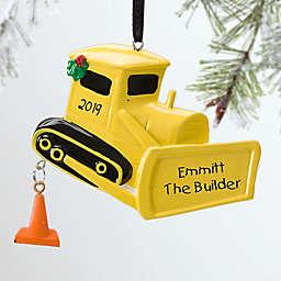 Little Bulldozer Christmas Ornament