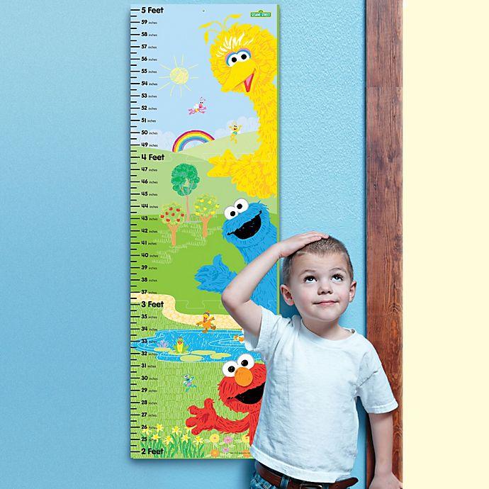 Sesame Street Foam Growth Chart Bed Bath Beyond