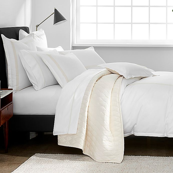 Alternate image 1 for Under the Canopy® Hotel Border Organic Cotton Bedding Collection