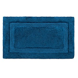 Wamsutta® Luxury 21-Inch x 34-Inch Border Plush MicroCotton Bath Rug