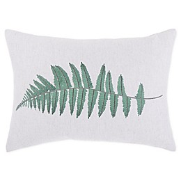 Bee & Willow™ Home Wild Fern Oblong Throw Pillow in Beige