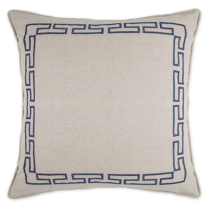 Alternate image 1 for Wamsutta® Meader Key Square Throw Pillow