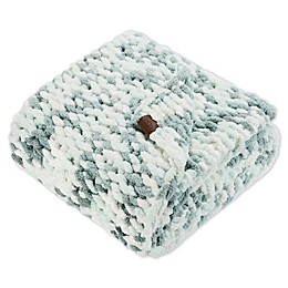 UGG® Fermont Chenille Throw Blanket in Blue Crush