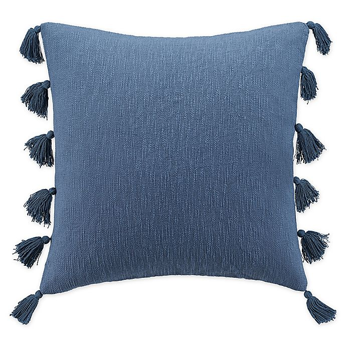 Alternate image 1 for UGG® Claudine European Square Throw Pillow in Pacific Blue
