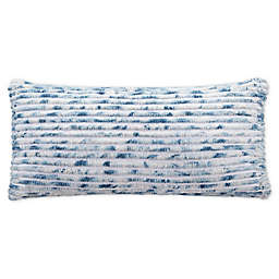 UGG® Kendall Bolster Throw Pillow in Pacific Blue