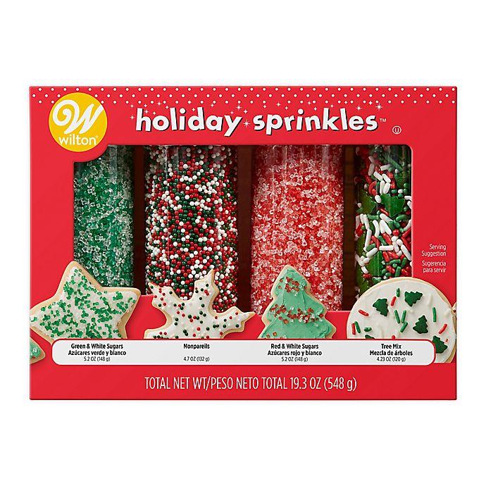 Alternate image 1 for Wilton® 19.3 oz. Holiday Mega Sprinkles Variety Set