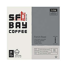 OneCup™ San Francisco Bay French Roast Coffee Pods for Single Serve Coffee Makers 30-Count