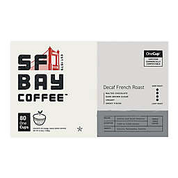 OneCup™ San Francisco Bay Decaf French Roast Coffee for Single Serve Coffee Makers 80-Count