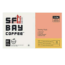 OneCup™ San Francisco Bay Variety Pack Coffee Pods for Single Serve Coffee Makers 80-Count