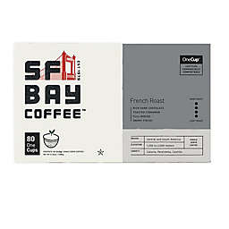 OneCup™ San Francisco Bay French Roast Coffee Pods for Single Serve Coffee Makers 80-Count