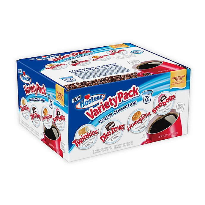 Alternate image 1 for Hostess® Variety Pack Coffee for Single Serve Coffee Makers 72-Count