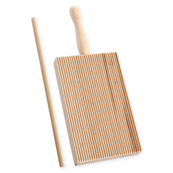 Alternate image 1 for Fante's Cousin Allora's Garganelli Pasta Maker