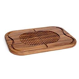 Lipper International Acacia Steak Carving Board