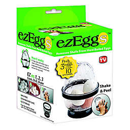 ezEggs 3 Egg Peeler in Black