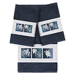 Linum Home Textiles Ava 3-Piece Bath Towel Set