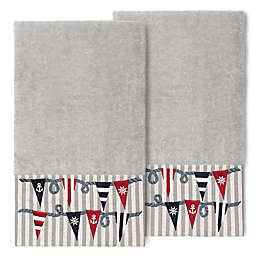 Linum Home Textiles Ethan Bath Towels (Set of 2)