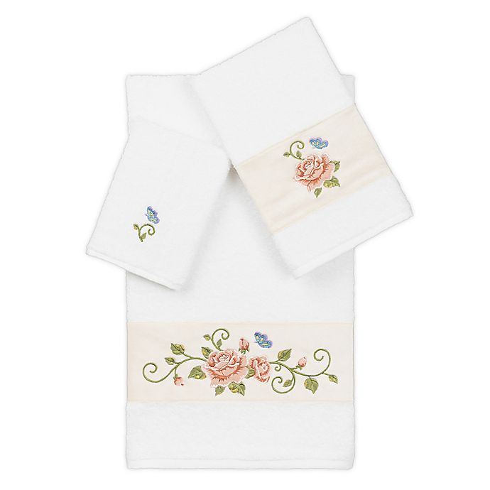 Alternate image 1 for Linum Home Textiles Rebecca Bath Towel Collection