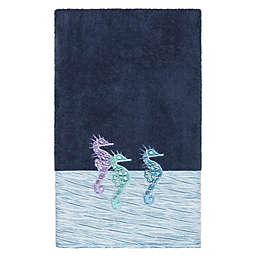Linum Home Textiles Sofia Bath Towel in Midnight Blue