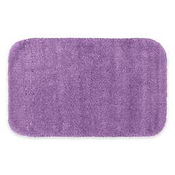 """Garland 24"""" x 40"""" Traditional Bath Rug in Purple"""