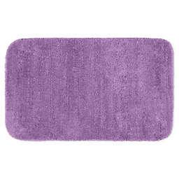 """Garland 30"""" x 50"""" Traditional Bath Rug in Purple"""