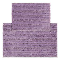 Grand Isle 2-Piece Bath Rug Set in Purple